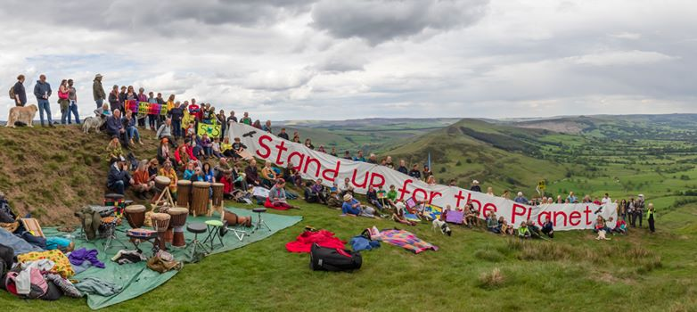 190609 Mam Tor Peak District Against Fracking