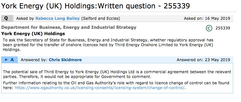 190516 Rebecca Long Bailey question