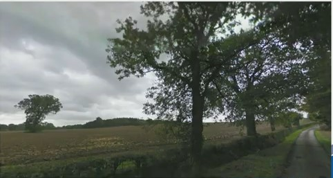 Proposed entrance off High Loxley Road. Photo: from Waverley Borough Council webcast