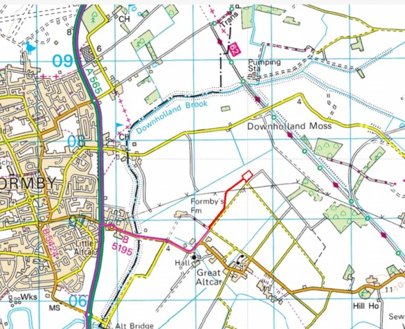 Altcar Moss planning application Aurora Resources 3