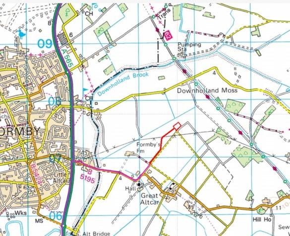 Altcar Moss planning application Aurora Resources 3