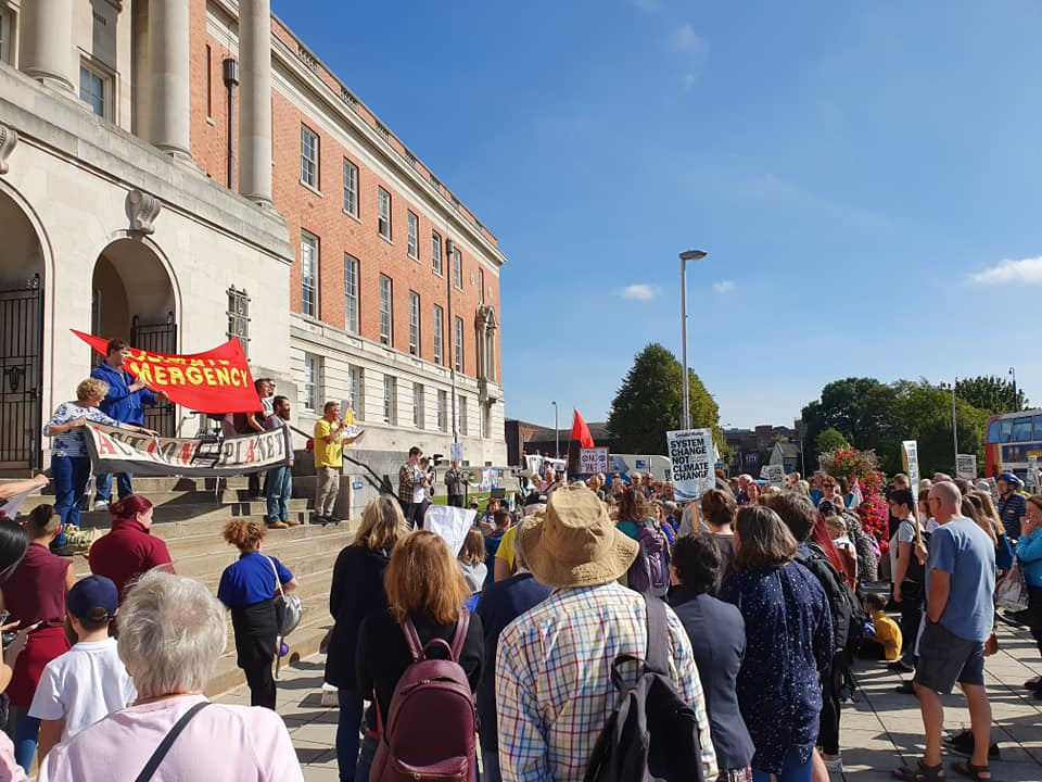 190920 climate strike Chesterfield Anna Wright