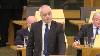 Mark Ruskell MSP, 3 October 2019. Photo: Scottish Parliament TV