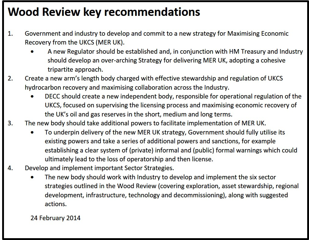 20140224 Wood Review recommendations