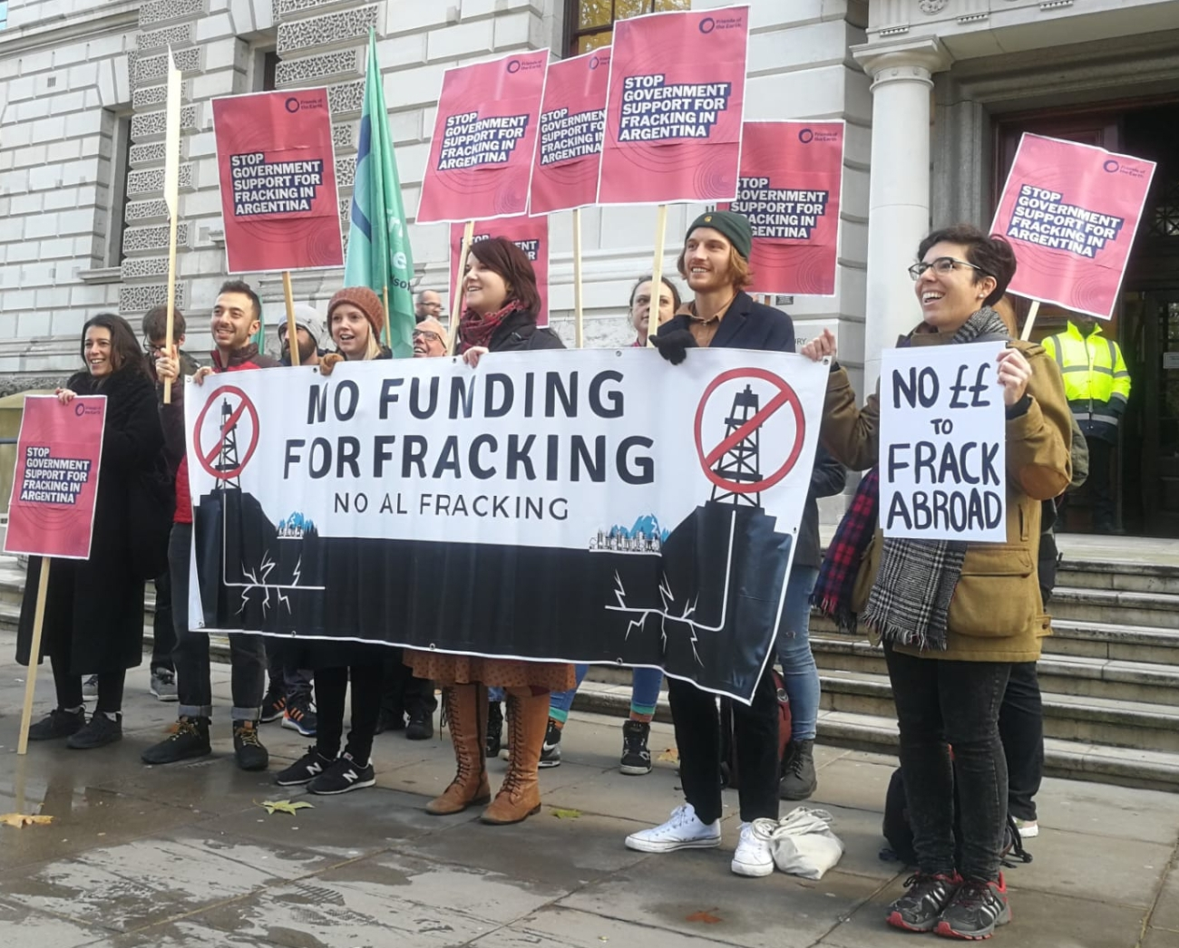 191118 no funding for fracking FoE
