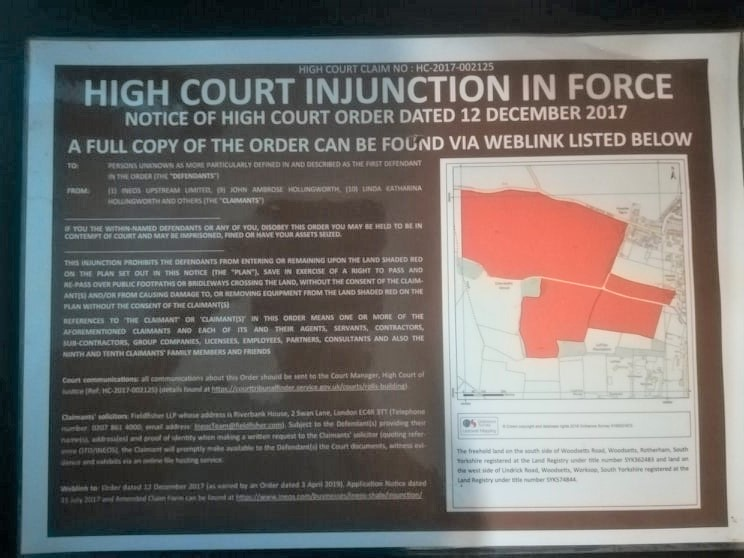 191209 Woodsetts Ineos injunction notice WAF (2)