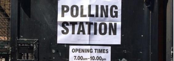 Polling statio slider