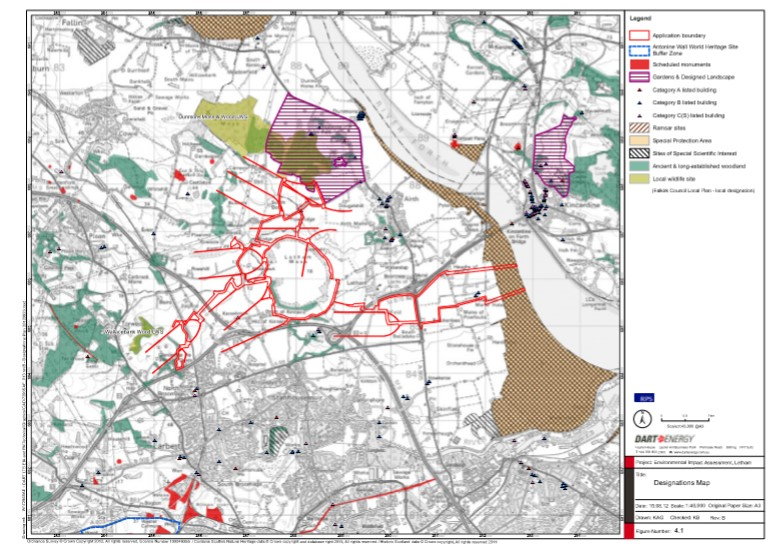 Airth location and designations