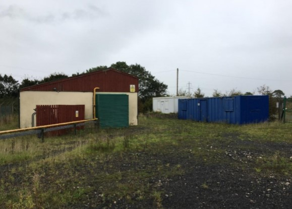 Elswick generator welfare and storage Cuadrilla Resources