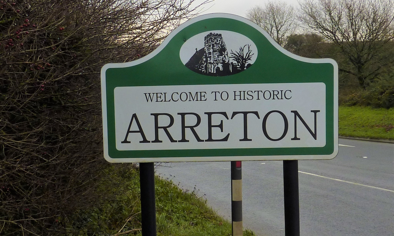 191217 Arreton sign