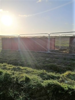 Rathlin Energy's West Newton-B well site, 19 April 2020. Photo: Used with the owner's consent