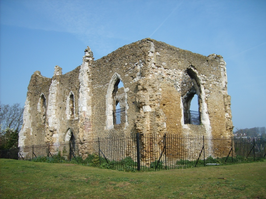 St Catherine's chapel near Guildford. Photo: Simon Burchell/Surrey